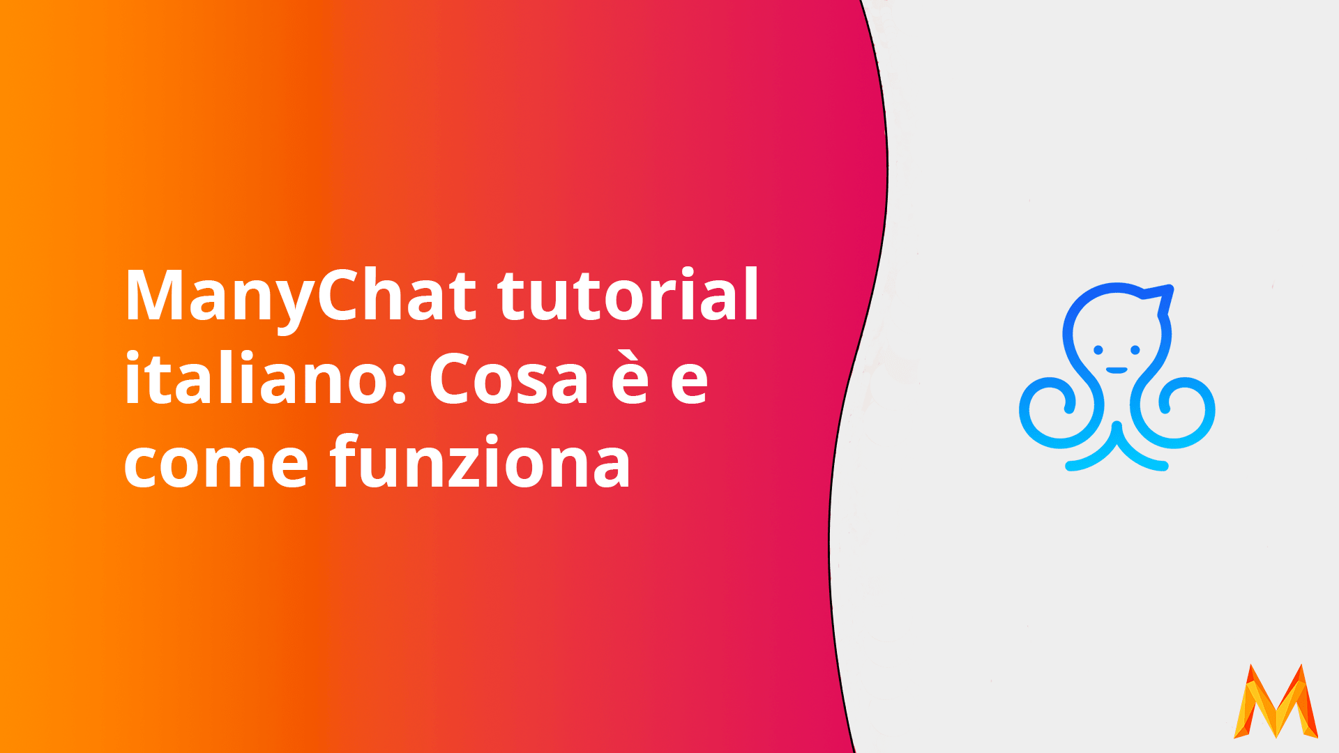 ManyChat tutorial italiano