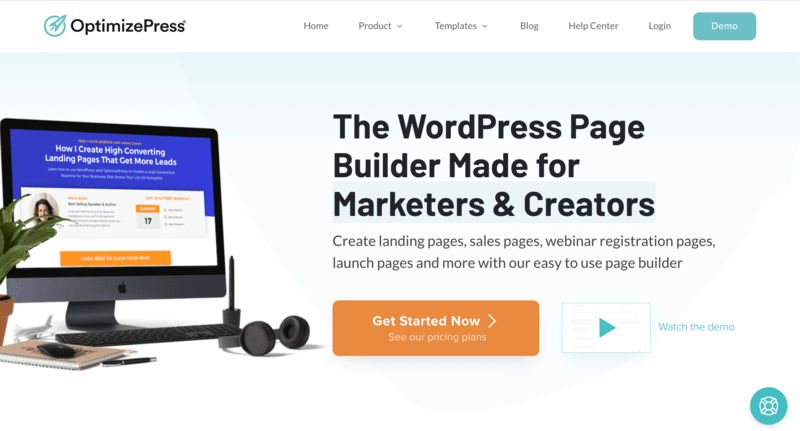 Sales page di OptimizePress